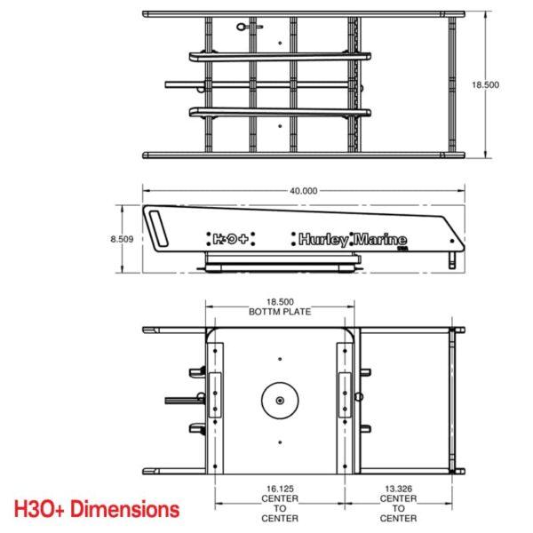 H3O-Davit-Dimensions