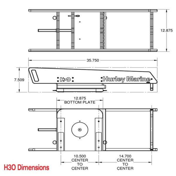 H3O-Dimensions