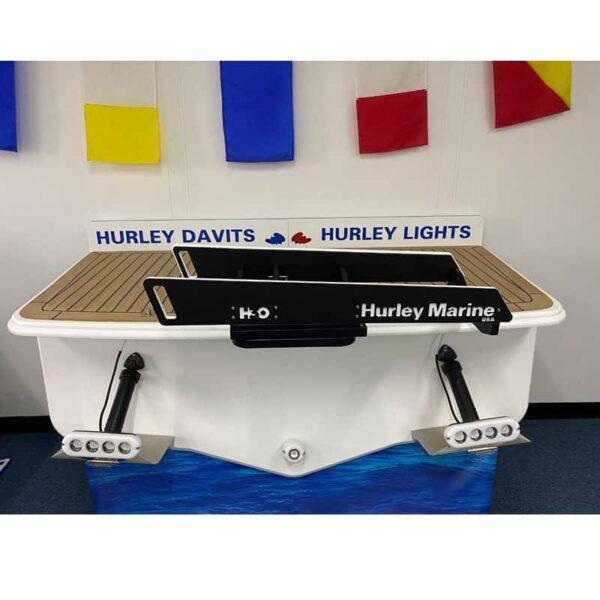 Hurley-H3O-Dinghy-Davit-System-Black